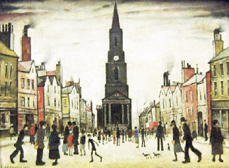 L.S. Lowry paintings - the Northern School of British artists